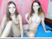 Cortney_Now and Molly_Wall Chaturbate lesbian naked on webcam.