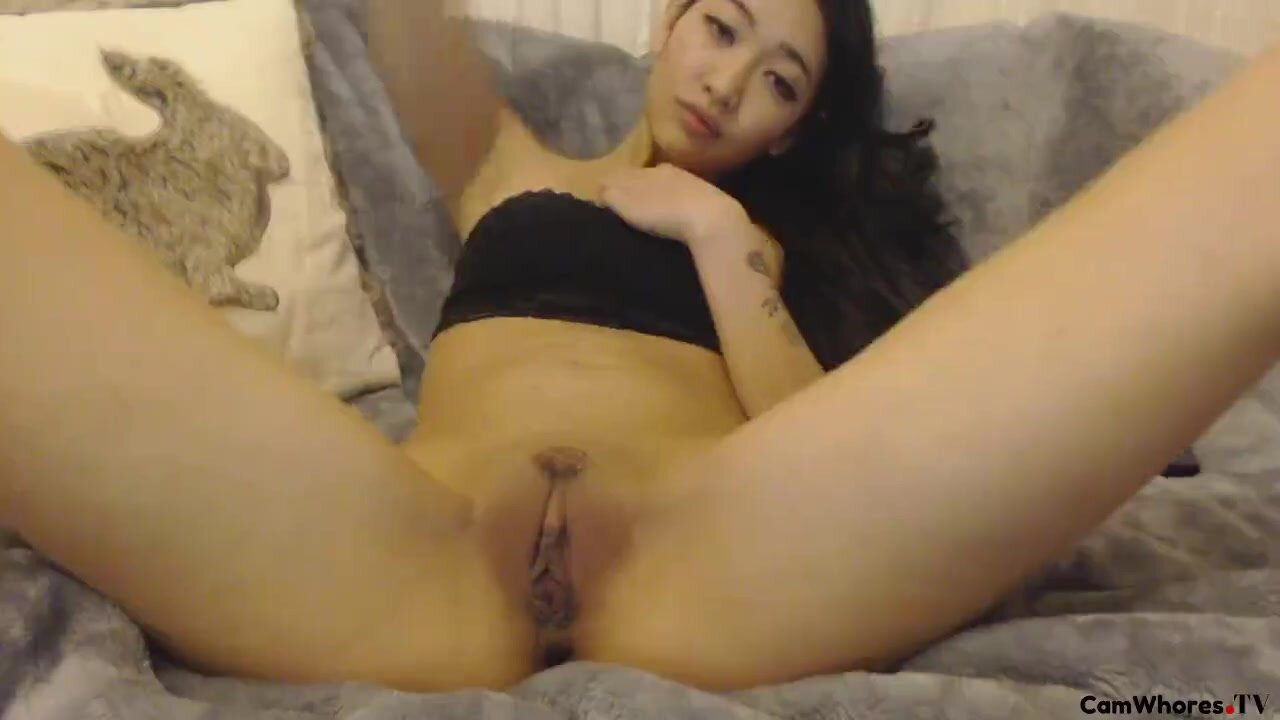Asian Milf Fingering Herself